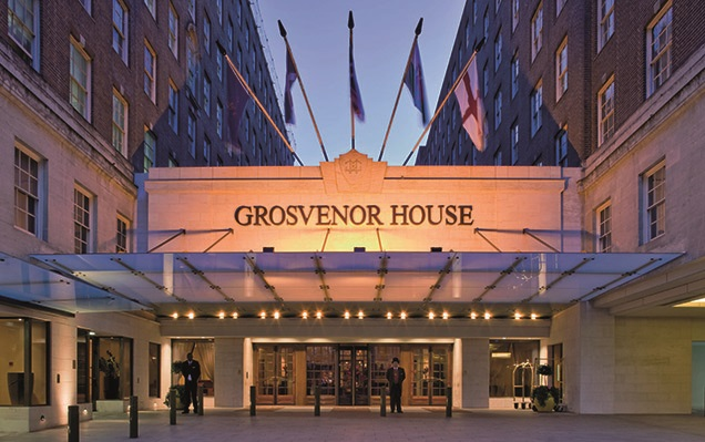 Grosvenor House hotel, London