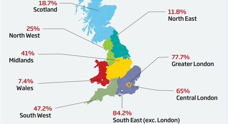 UK Confidence Map