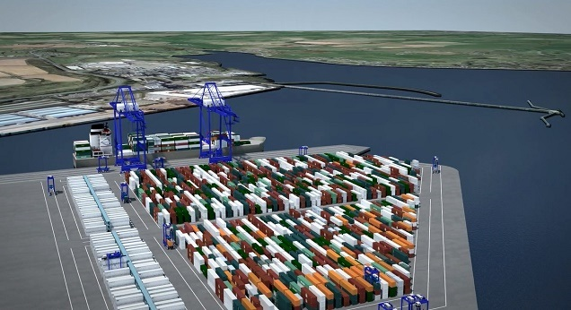 Cork Container Terminal Ringaskiddy