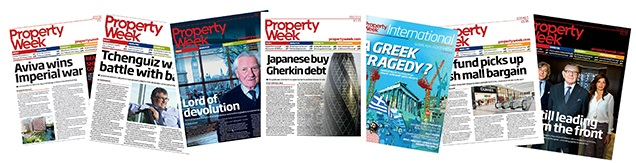 Property Week Front Covers