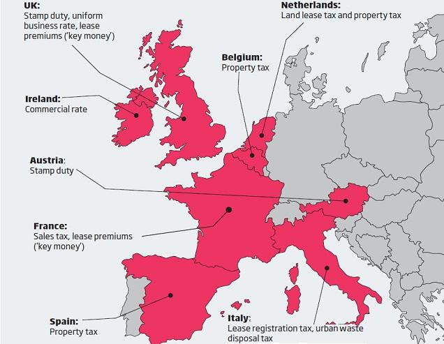 Euro Tax Map