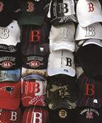 Boston baseball caps