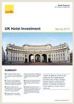 Savills: UK Hotel investment - Spring 2012