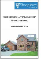 Shropshire Council: Build your own affordable home information pack