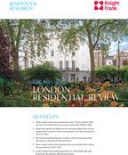 Knight Frank London Residential Review - Spring 2013