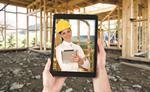 Building site woman