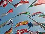 Flags from across Europe