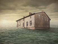 Flooding house