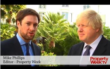 MIPIM 2013: Boris Johnson and Mike Phillips