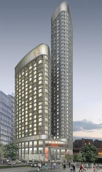Stars come out: luxury hotel for Snowhill