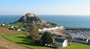 Jersey's Mont Orgueil and Gorey harbour